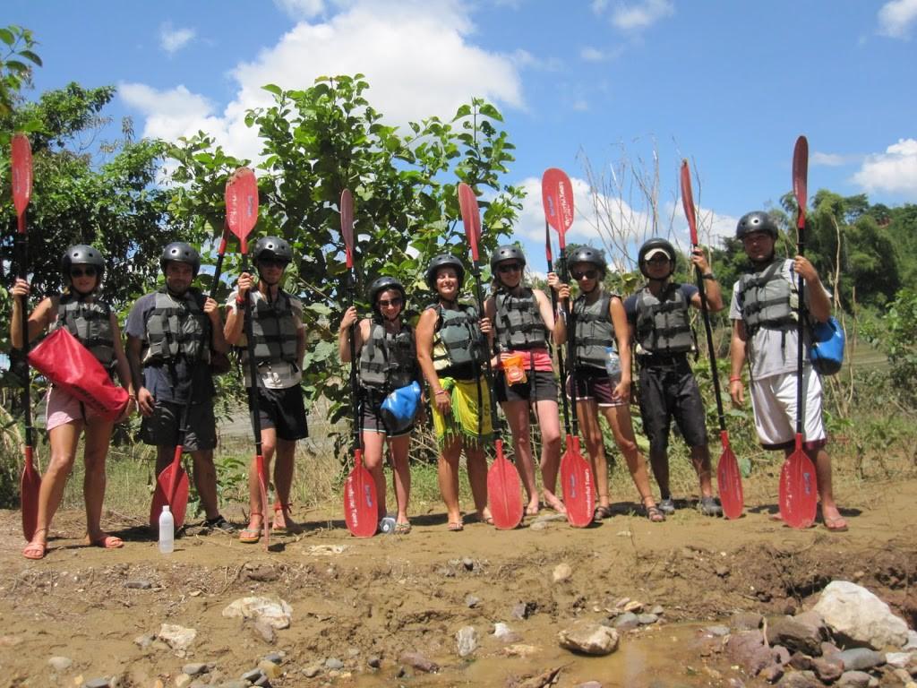 kayak-Vientiane-Laos