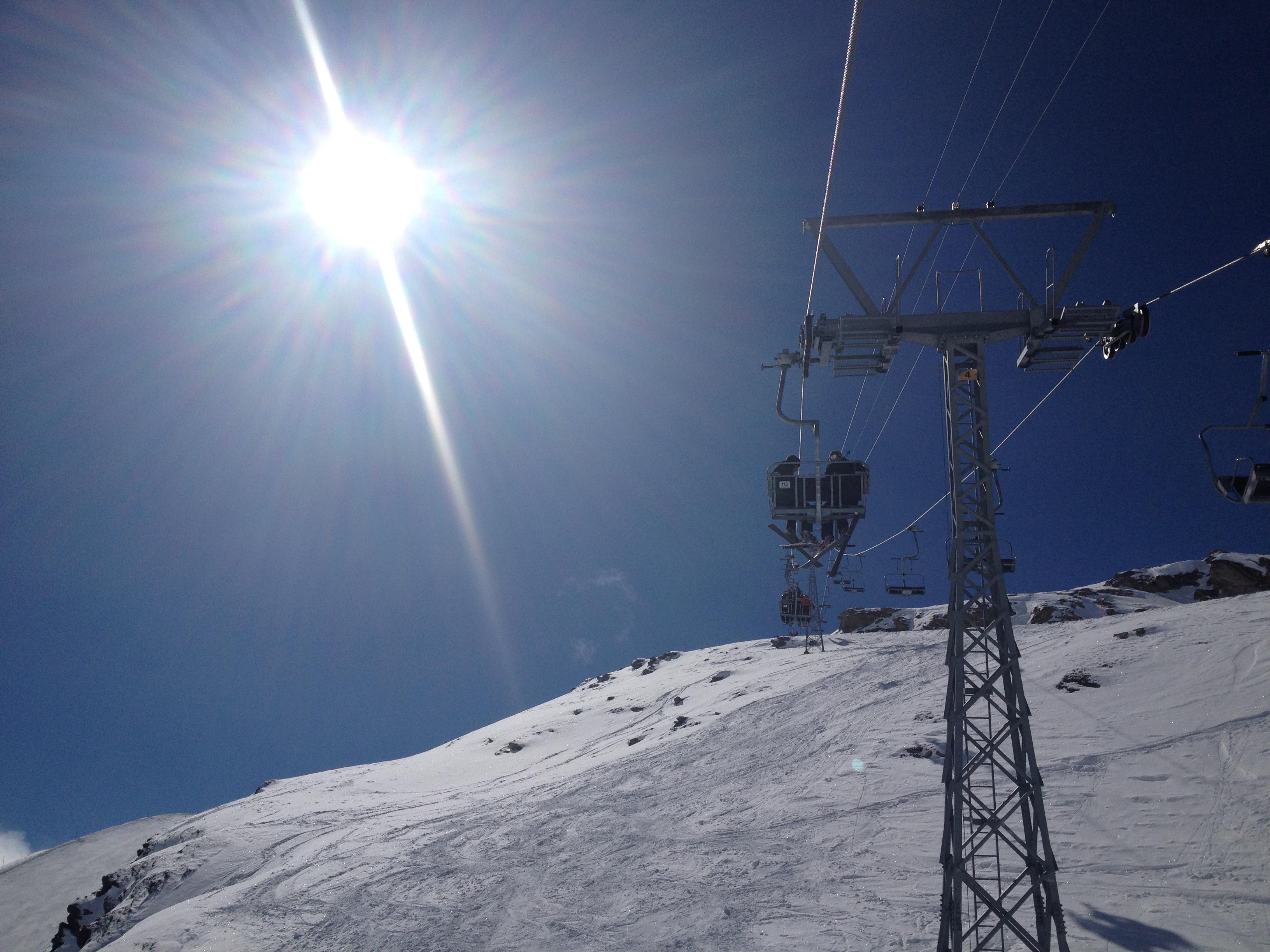 Teleférico. Zermatt