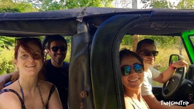 Mergulho em Cozumel, México: passeio de jipe