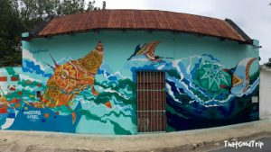 Sea Walls em Cozumel