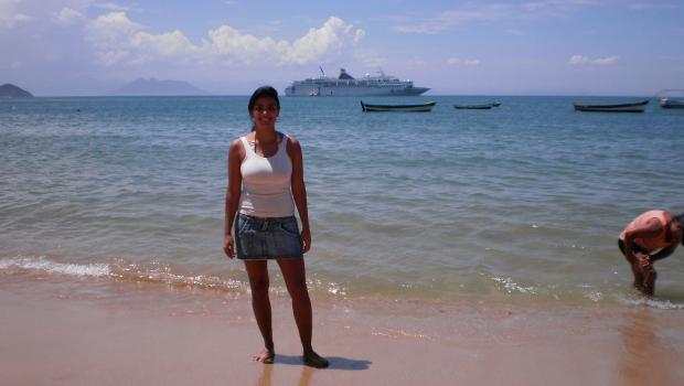 trabalho em navio: pausa para conhecer destinos