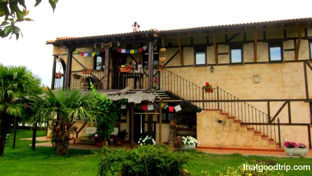 Albergue no Caminho de Santiago: Albergue Verde