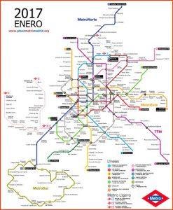 como ir do aeropuerto ao centro de madrid: mapa do metro