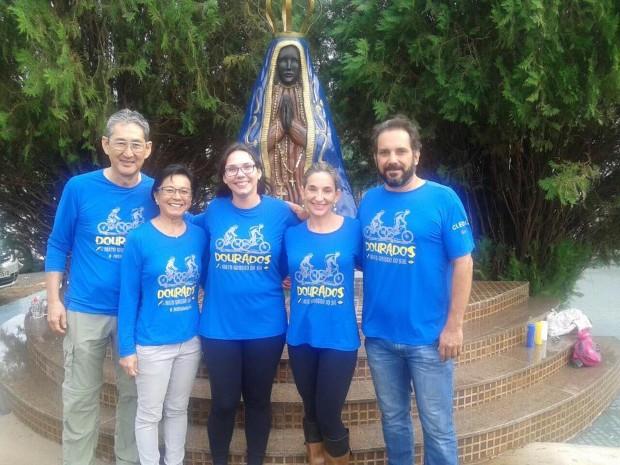 Caminho de Santiago de Compostela de Bicicleta: bênção antes de partir para o Caminho de Santiago