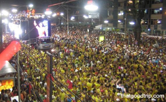 Carnaval de Salvador: a vista dos camarotes