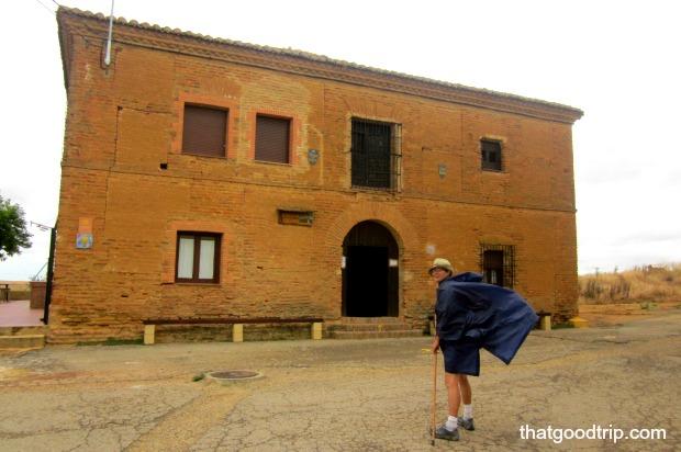 Albergue no Caminho de Santiago: fugindo da chuva