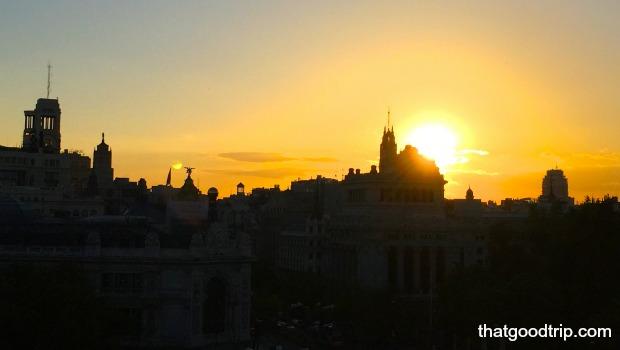 Terraza Cibeles Madrid