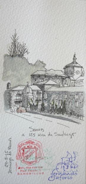 Samos Camino de Santiago
