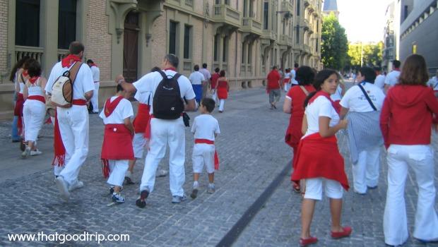 Festa de San Fermin: para toda a família