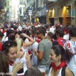 Como é a festa de San Fermin na Espanha?