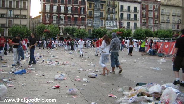Festa de San Fermin: o depois