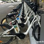 Testando a bicicleta pública de Madrid