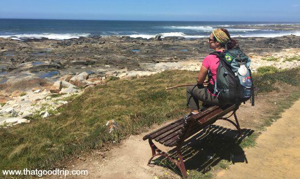 Caminho Portugues da Costa: Praia da Âncora, Portugal