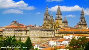 O que fazer em Santiago de Compostela: mirantes da cidade