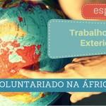 Voluntariado na África
