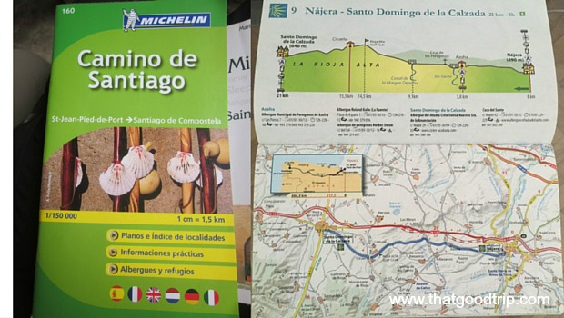 Guias do Camino de Santiago: Michelin