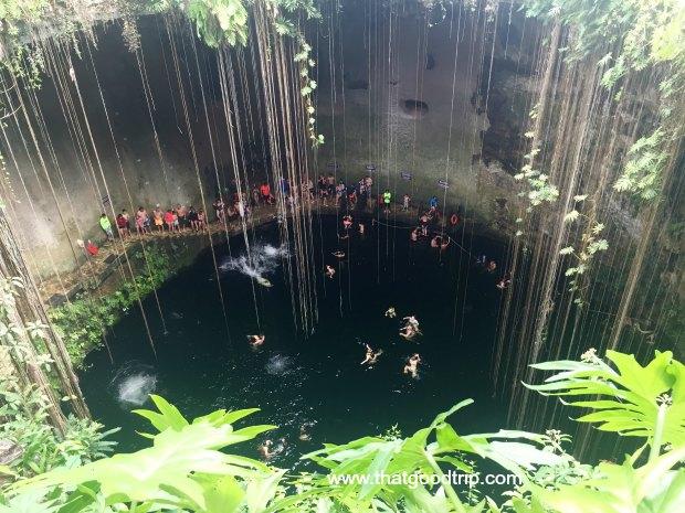 O que fazer na Riviera Maya: cenote Ik Kil
