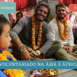 Voluntariado na Ásia e África