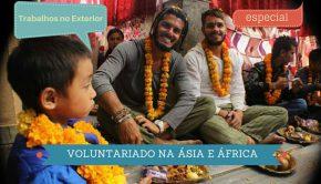 Voluntariado pelo mundo