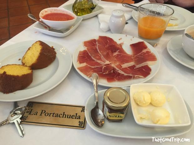 Desayuno Hotel Rural Los Ánades