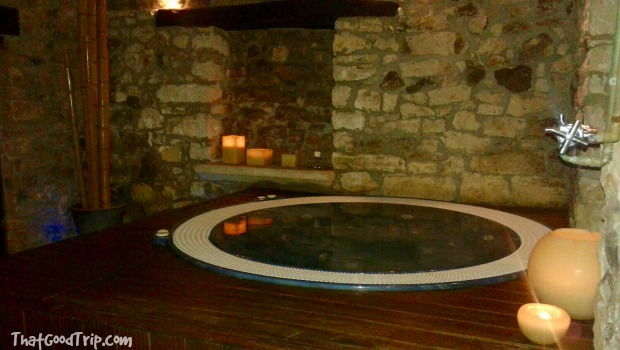 Spa del hotel rural Los Ánades