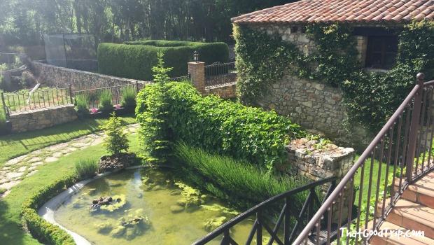 Jardin del hotel Los Ánades