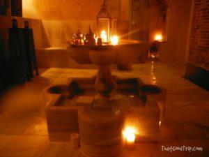 Sala de descanso Hamman Al Andalus