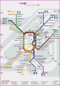 Como ir do aeroporto ao centro de Madrid: mapa do trem
