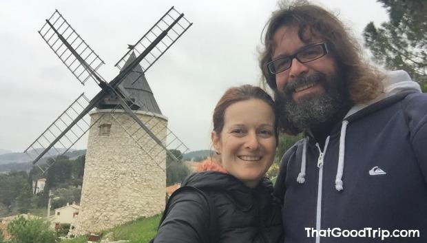 Moinhos de vento de Allauch, França