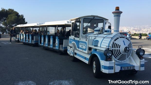 Trem para visitar la Basilique Notre Dame de la Garde