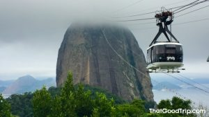 Bondinho do Pão de Açúcar no Rio de Janeiro