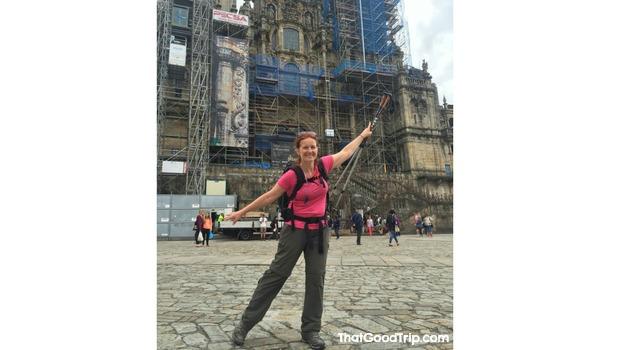 Caminho Ingles: Chegada a Santiago de Compostela