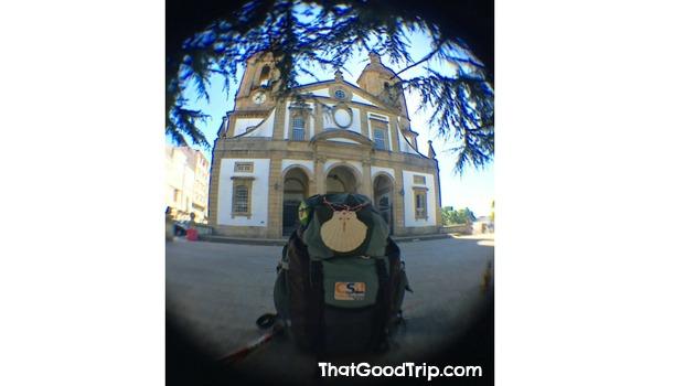Caminho Ingles: Concatedral de San Julián em Ferrol
