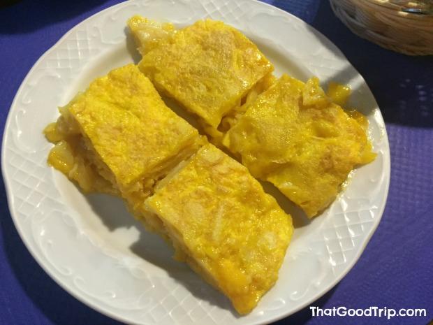 Caminho Ingles: A famosa tortilha de batata de Betanzos!