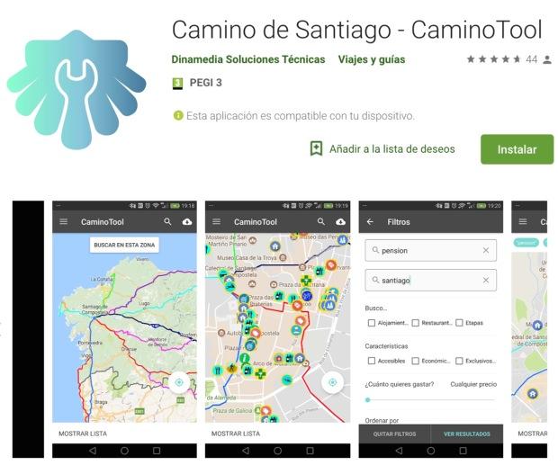 Guias do Camino de Santiago: Camino tool