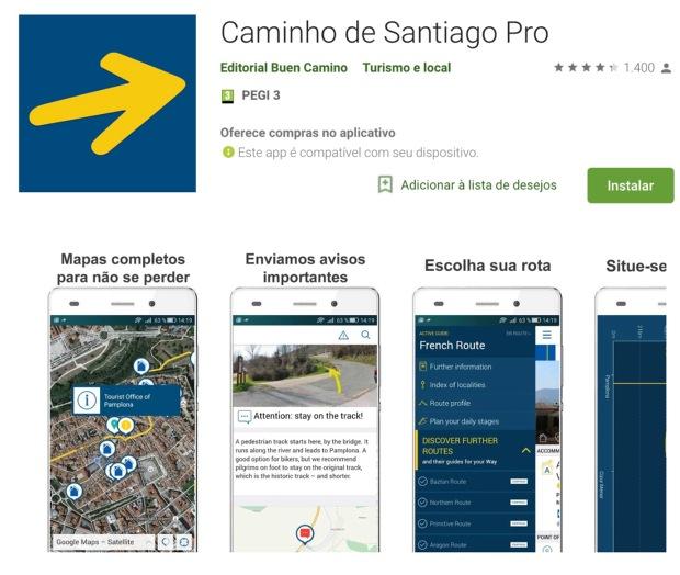 Guias do Camino de Santiago: Caminho de Santiago Pro