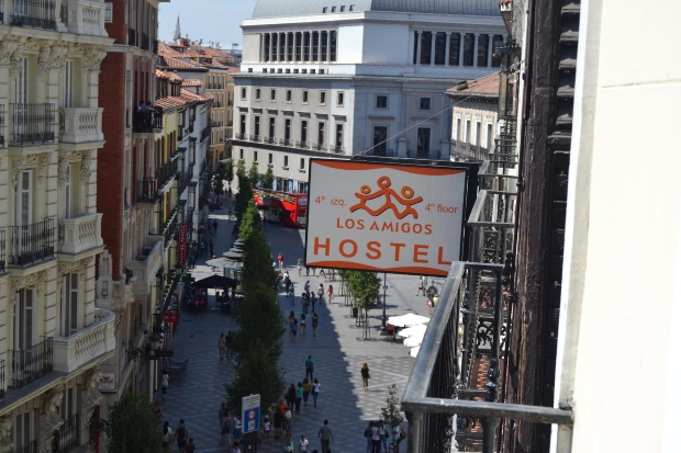 Hostels no centro de Madrid: Los Amigos hostel
