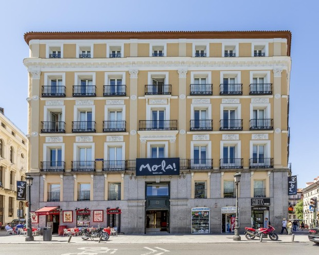 Hostels no centro de Madrid: Mola Hostel