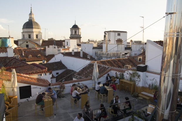 Hostels no centro de Madrid: The Hat hostel
