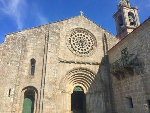 Variante Espiritual do Caminho Português: Monasterio de Armenteira