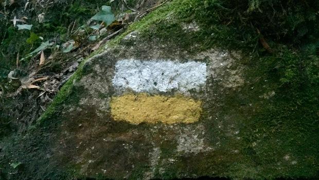Variante Espiritual do Caminho Português: marcações