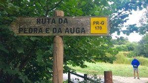Variante Espiritual do Caminho Português: sinalização da rota da pedra e da água