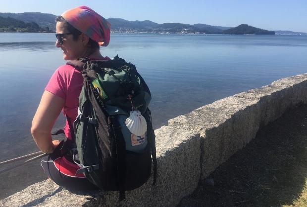 Variante espiritual do Caminho Português: quase chegando a Combarro
