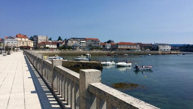 Variante Espiritual do Caminho Português: chegando a Vilanova de Arousa