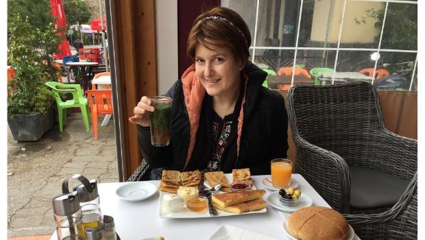 cafe da manhã no Marrocos: adoro!