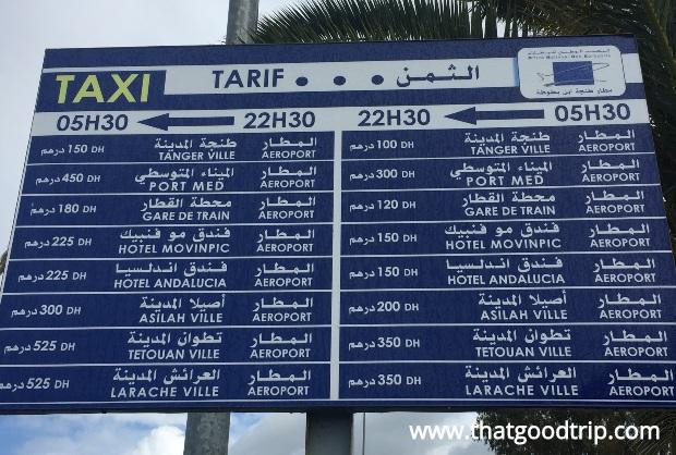 chefchaouen: como ir do aeroporto à cidade