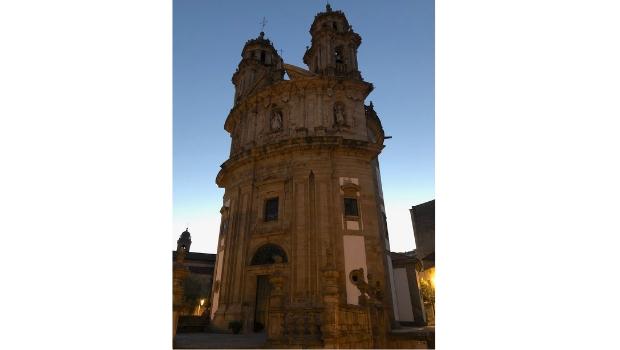 Variante Espiritual: Igreja da Virgen La Peregrina em Pontevedra
