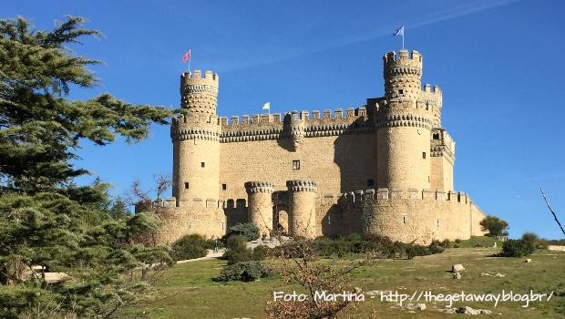 Caminho de Santiago de Madrid: Castelo de Manzanares el Real