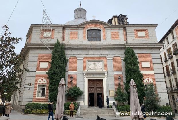 Caminho de Madrid: começa na Igreja de Santiago e San Juan Bautista