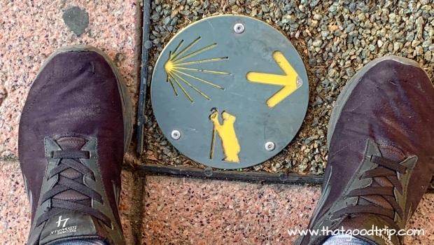 Caminho de Madrid: seu símbolo pelas ruas do norte da cidade